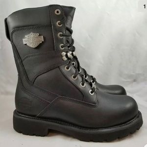 NEW HARLEY DAVIDSON Men's Motorcycle Boots Size 9